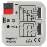 KNX 通用接口模块, 4路, 暗装