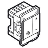 金属镁色方形600W触摸调光开关(2M)
