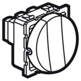 20A 金属镁色圆开3位单控开关(2M)