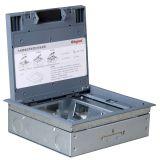 地插盒,70mm深,预置8口尚超模块支架(垂直安装)底盒深度:70mm, 垂直安装