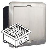 银色_方形_小型地插盒_D60mm