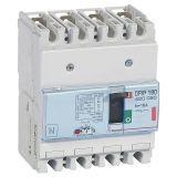 DPX3 热磁式塑壳断路器 160壳架 - Icu 36 kA - 400 V~ - 040 A - 4P