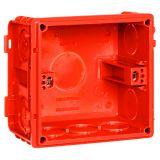 86型暗装底盒 红色