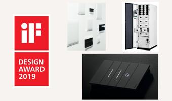 罗格朗的三个产品线 LivingNow、Practibox-S和Keor Mod荣获2019年iF设计大奖