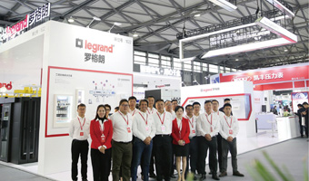 罗格朗亮相2019上海国际电力电工展